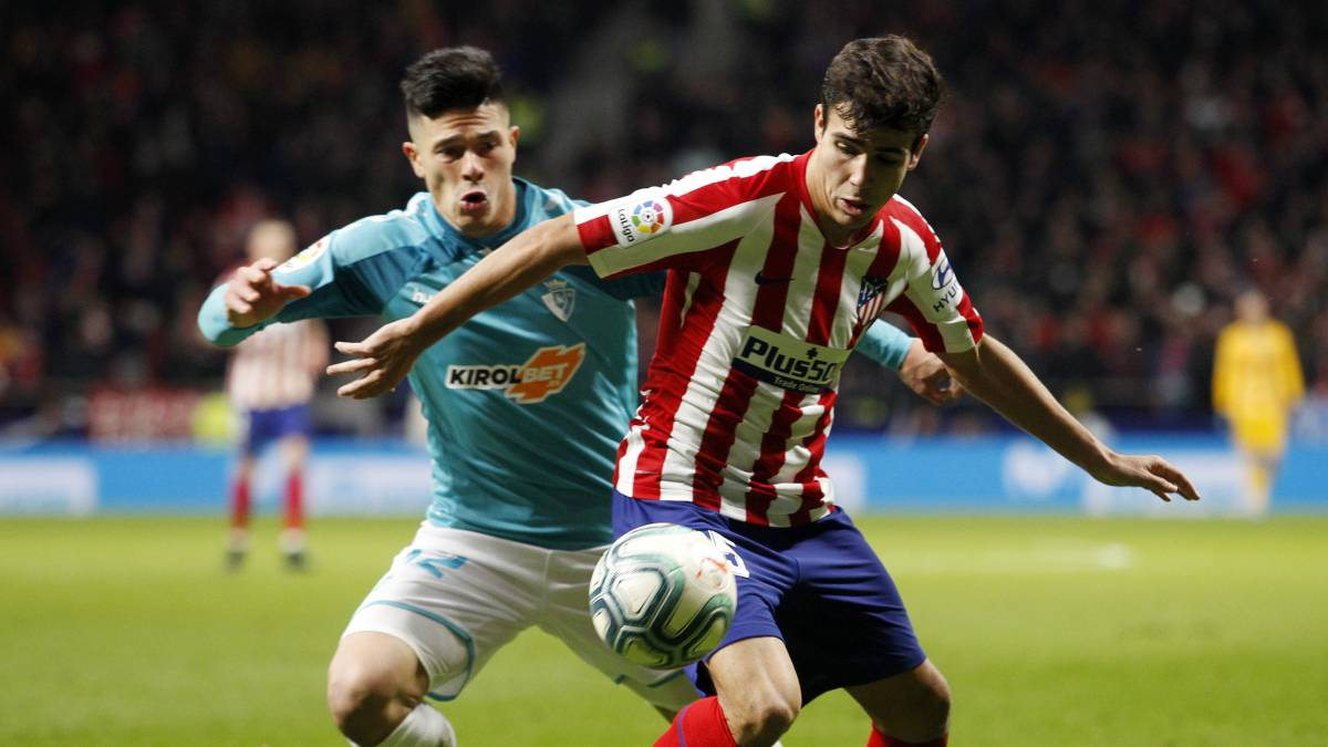 El Atlético traspasará a Manu Sánchez a Osasuna