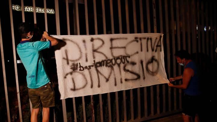 'Manifest Blaugrana' anuncia su intención de presentar una moción de censura