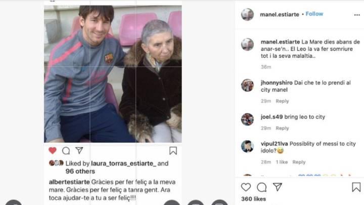 Un guiño de Manel Estiarte a Messi le acerca más al City