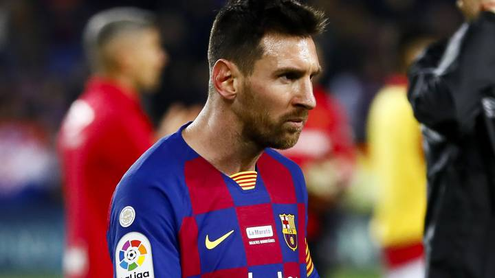 Messi's contract excludes FIFA and UEFA from legal conflict