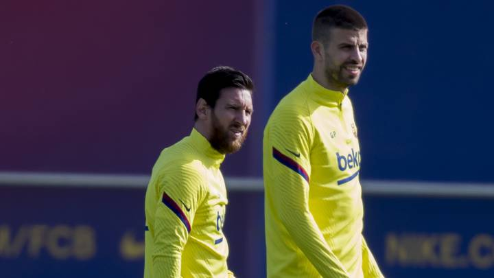 Los capitanes, pendientes de la decisión de Messi