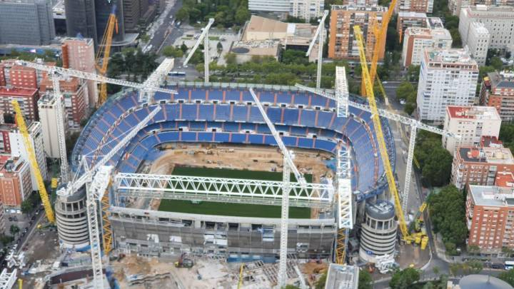 Real Madrid: The new Santiago Bernabéu is now able to stage matches