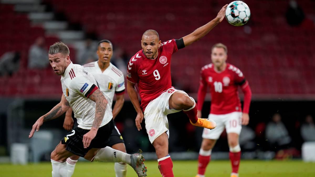 Dinamarca 0-2 Bélgica: resumen, resultado y goles | Nations League - AS.com