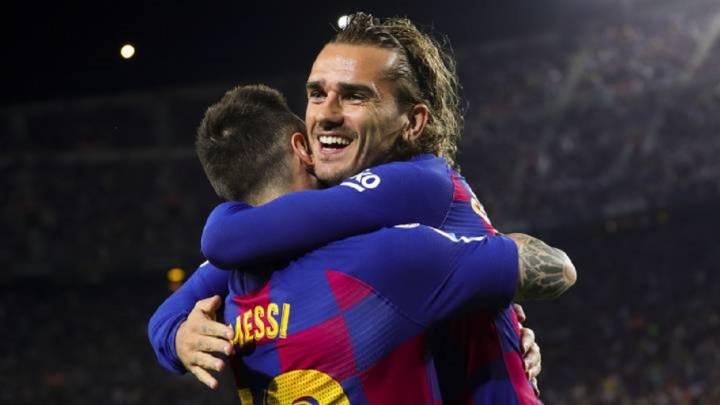 "Griezmann: ""Con Messi va a ir a mejor todo"""