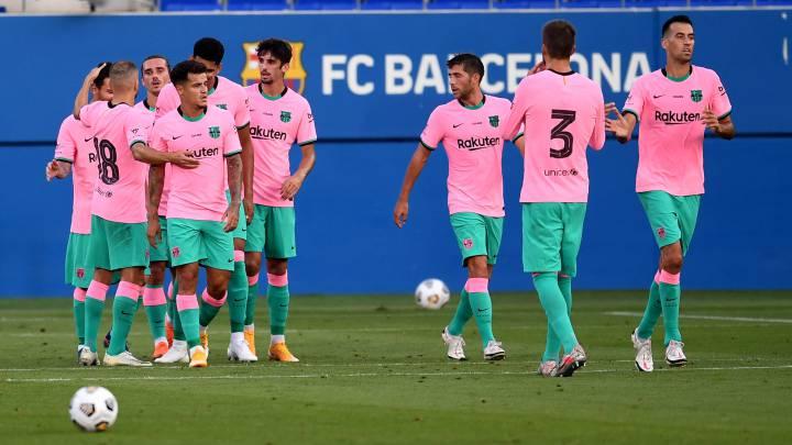 1x1 Barcelona: Trincao maravilla, Messi resuelve y Griezmann desespera