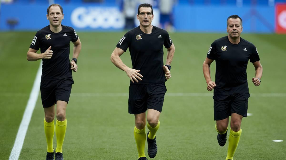 Ya hay árbitros para la segunda jornada de la Liga Santander y la Liga Smartbank