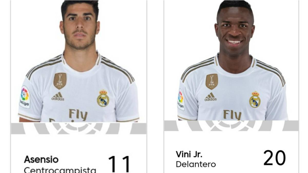 Real Madrid Squad Numbers 2020 21 Asensio And Vinicius Change After Bale Exit As Com