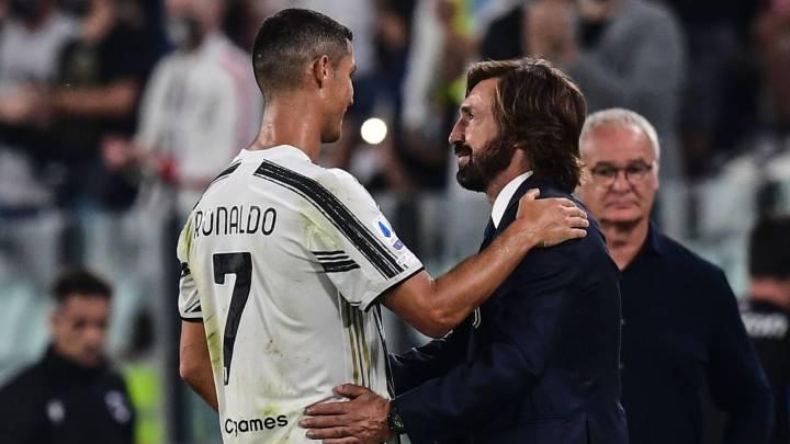 Pirlo asume el plan de ahorro de Cristiano Ronaldo