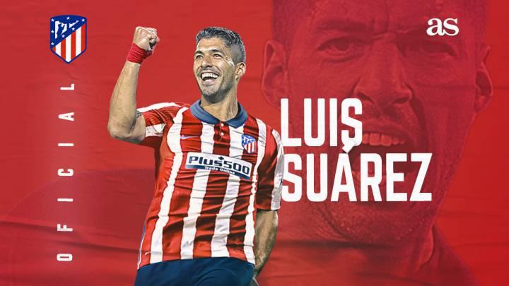 Luis Suárez es nuevo jugador del Atlético de Madrid