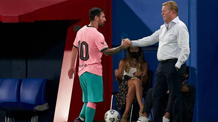 Messi y el tabú de la suplencia