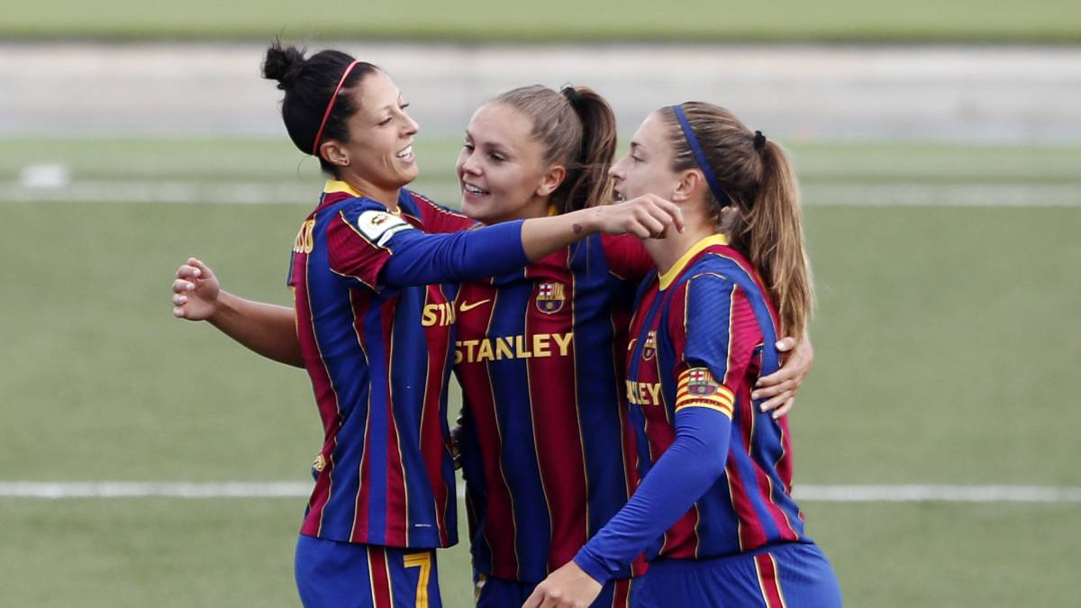 Real Madrid 0-4 Barcelona femenino