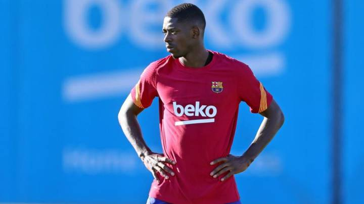 Barcelona seething with Dembélé and Umtiti