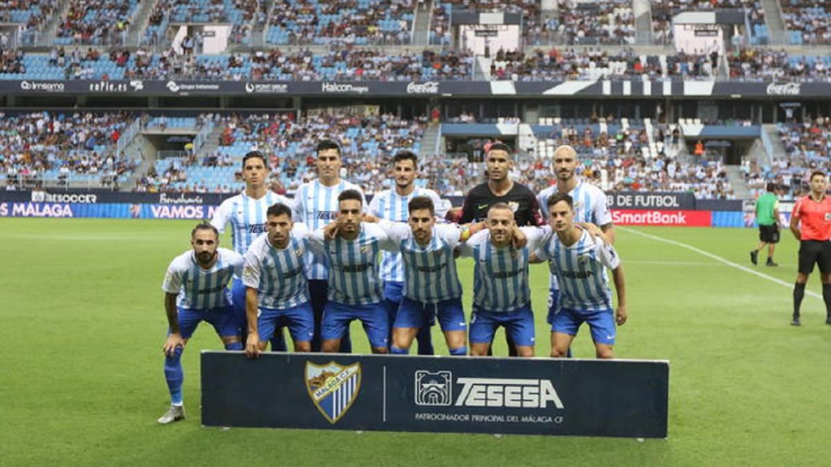 Cirugía radical en el Málaga. Un once entero nuevo contra Las Palmas 3