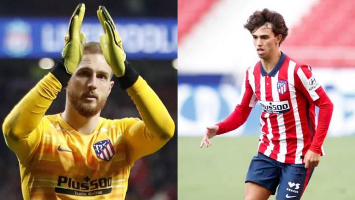 Oblak y João Félix, los más valorados del Atlético