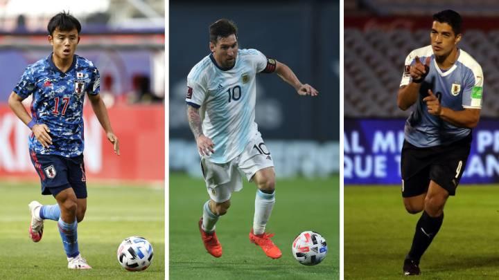 Partidos de hoy, 13 de octubre, de la Nations League, Eliminatorias Sudamericanas y amistosos: horarios