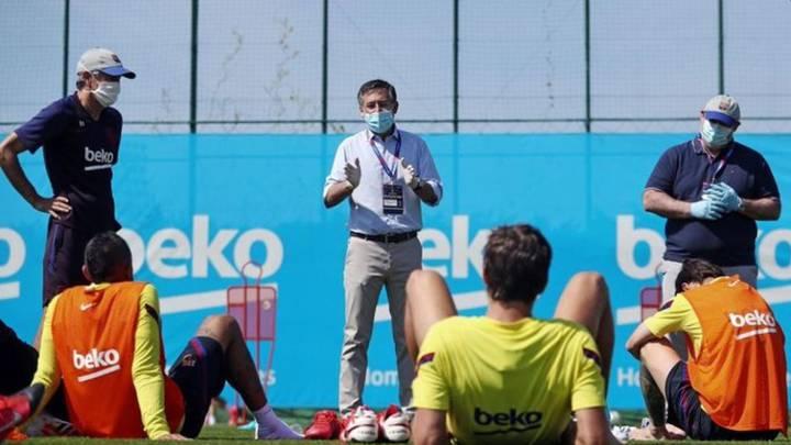 El primer equipo y el filial del Barça, en contra del 'tijeretazo' salarial propuesto por el club