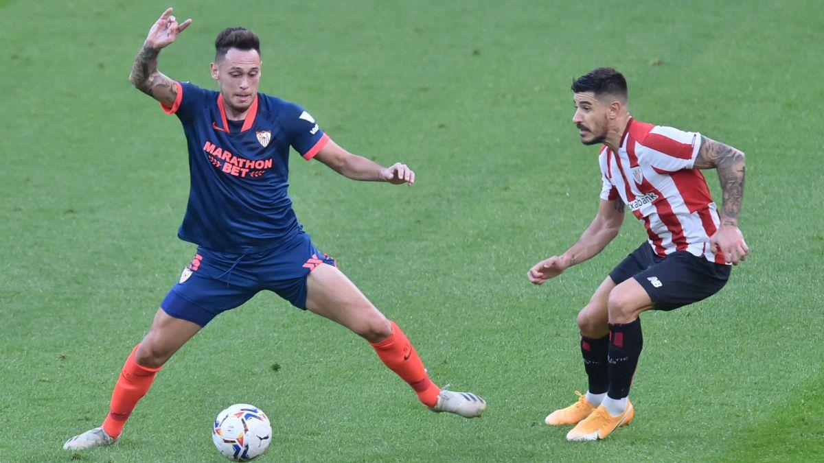 Muniain y Sancet desmelenan al Athletic ante un Sevilla en crisis