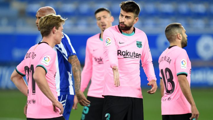 Barcelona player ratings after Koeman's side draw 1-1 at Alaves