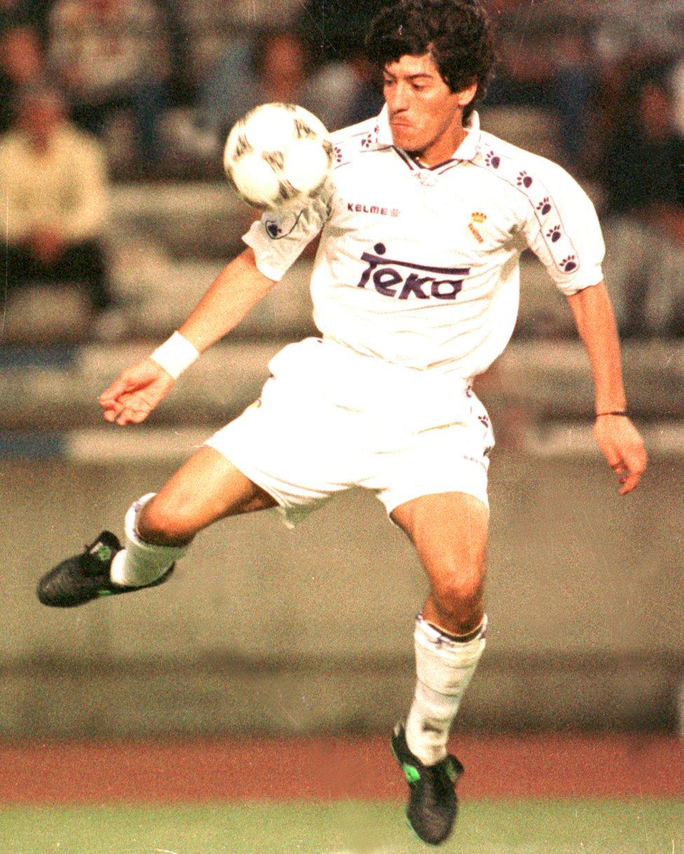 Zamorano Real Madrid (1992-1996) - Inter (1996-2000)