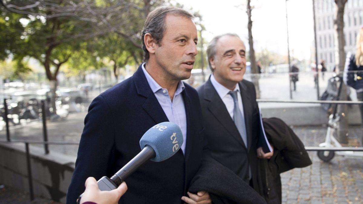 Rosell, absuelto de una denuncia por espionaje a Roures