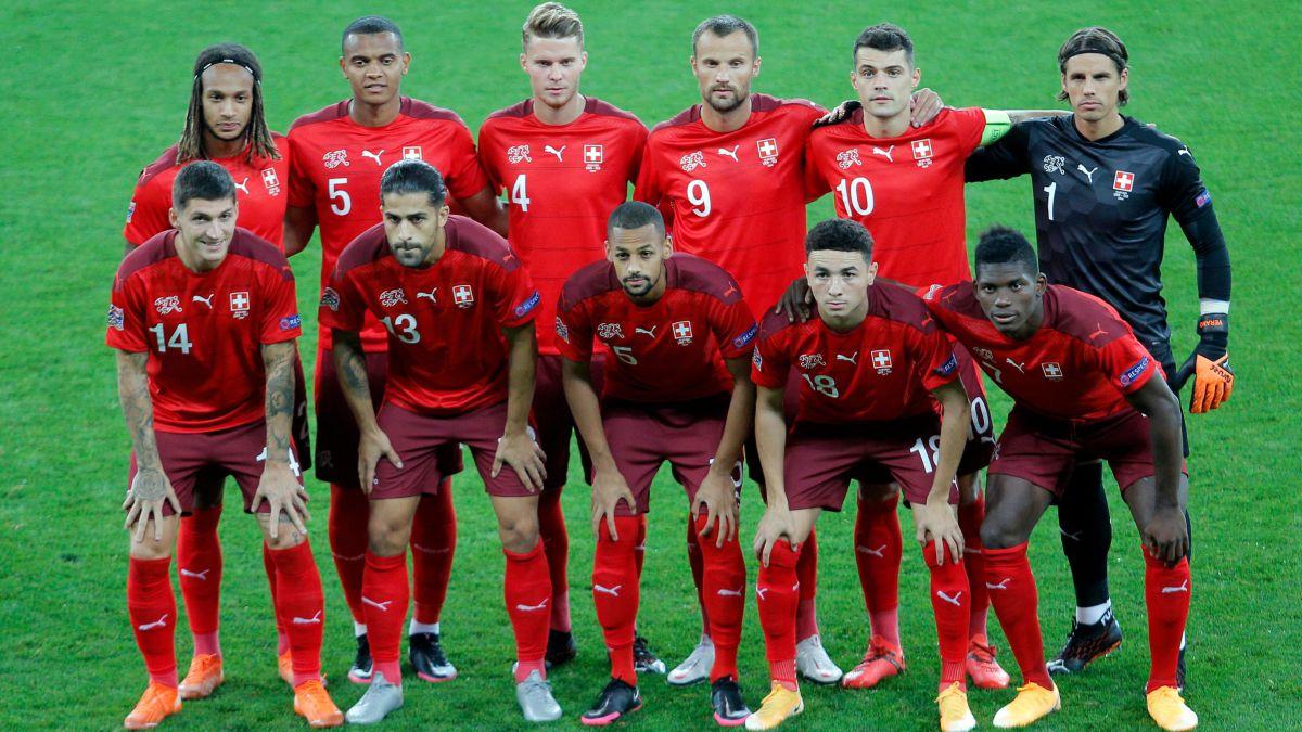 La mitad de los jugadores de Suiza juega en Alemania