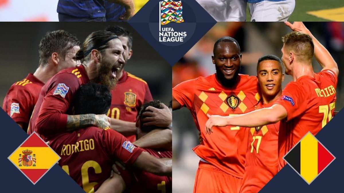 Nations League: Final Four finalists, host nation, promoted and relegated teams