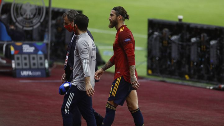 Sergio Ramos ruled out of next three Real Madrid games
