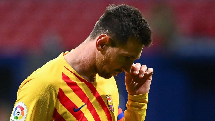 Messi malaise contagious as Koeman's plans fall apart