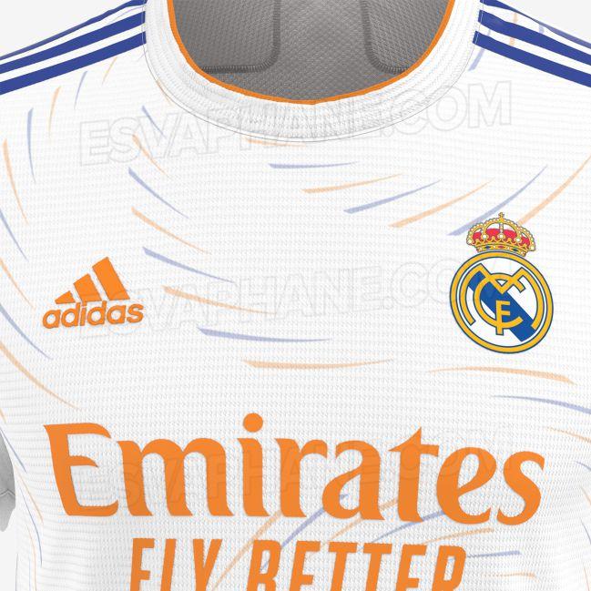 Filtradas las camisetas del Real Madrid 2021/22   AS.com