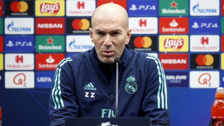 Shakhtar vs Real Madrid: Zidane's pre-match press conference