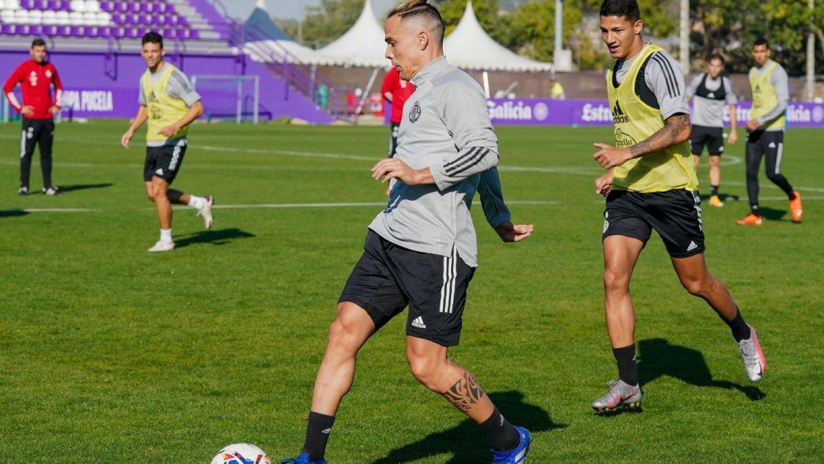 REAL VALLADOLID Cuatro entrenamientos para preparar la «final» ante Osasuna