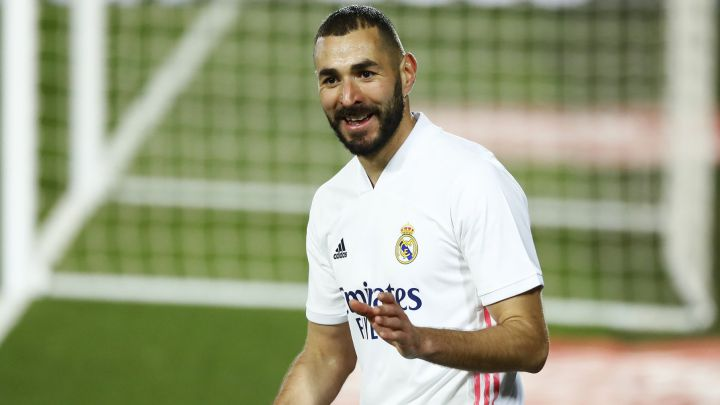 "Zidane: ""Benzema is the total footballer"""