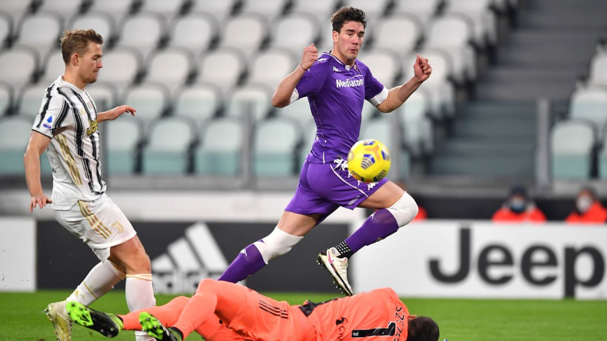 This is Dusan Vlahovic, the jewel of Fiorentina who dazzled against Juventus - Pledge Times
