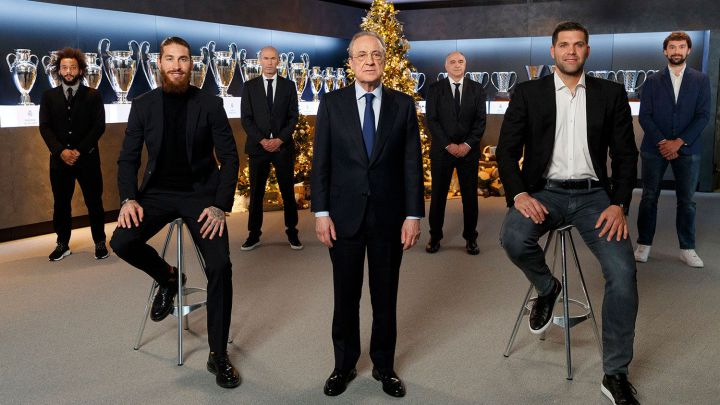 "Real Madrid's Christmas message: ""We'll get through this together"""