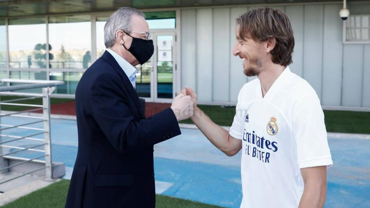 Real Madrid, Modric reach verbal agreement over extension