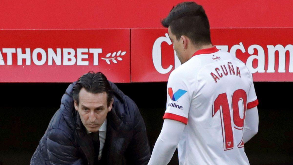"""Emery: """"La jugada del penalti hace que me sienta perjudicado"""""""