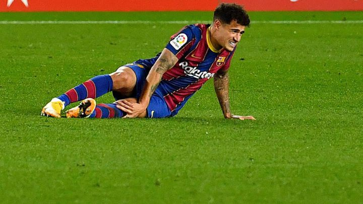 Coutinho out for three months