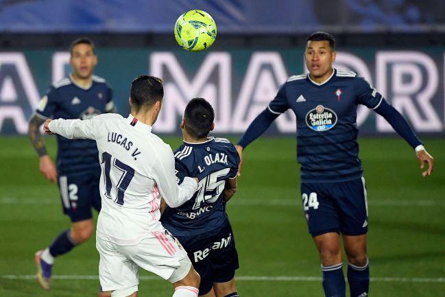 Así marcó Lucas Vázquez el 1-0.