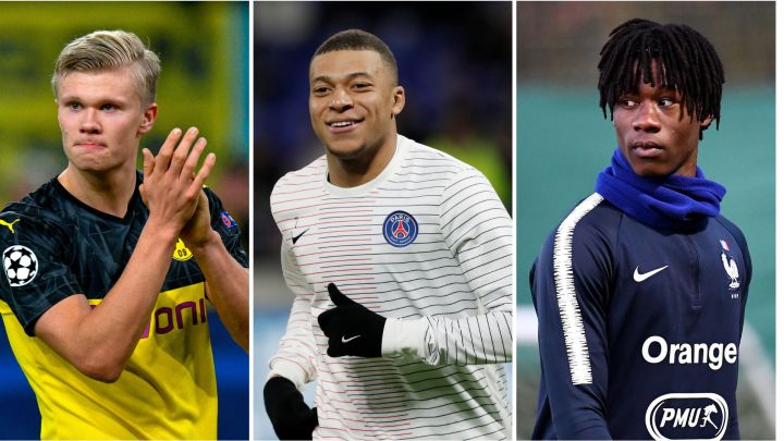 Mbappé, Haaland... The XI Real Madrid plan to boast by 2022