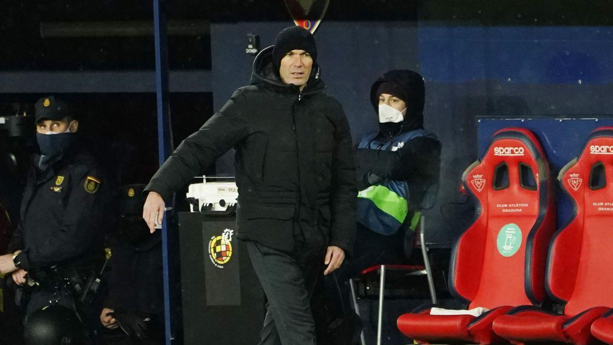 Osasuna-Real Madrid Zidane acusa a la Liga: «Esto no fue un partido de fútbol, debería haber sido suspendido»