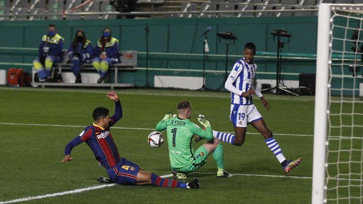 Barcelona avanza a la final de la Supercopa de España tras vencer en penales a la Real Sociedad