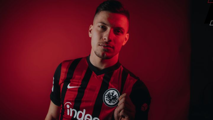 Real Madrid: Luka Jovic rejoins Eintracht Frankfurt on loan