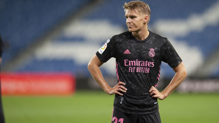 Arsenal make enquiry for Real Madrid's Odegaard