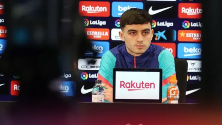 "Pedri: ""I've adapted well at Barça because I'm where I want to be"""