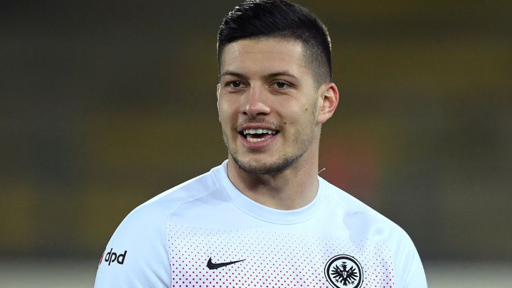 Jovic not thinking about Real Madrid return after flying start back at Frankfurt