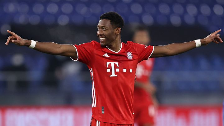 Real Madrid in pole position in the battle for Alaba's signature