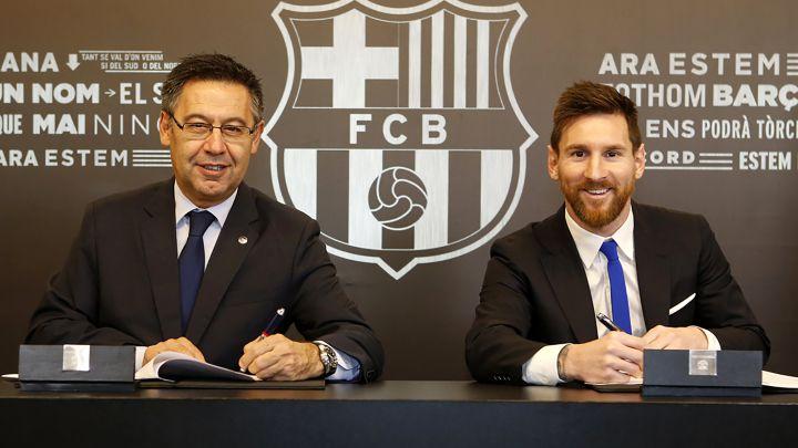 El contrato de Messi con el Barça le imponía que hablara catalán