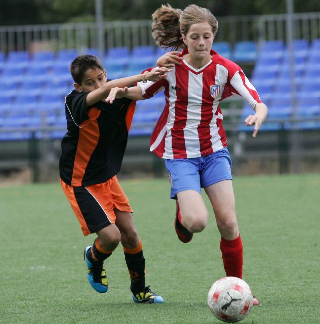 Torneo alevín en la Comunidad de Madrid.