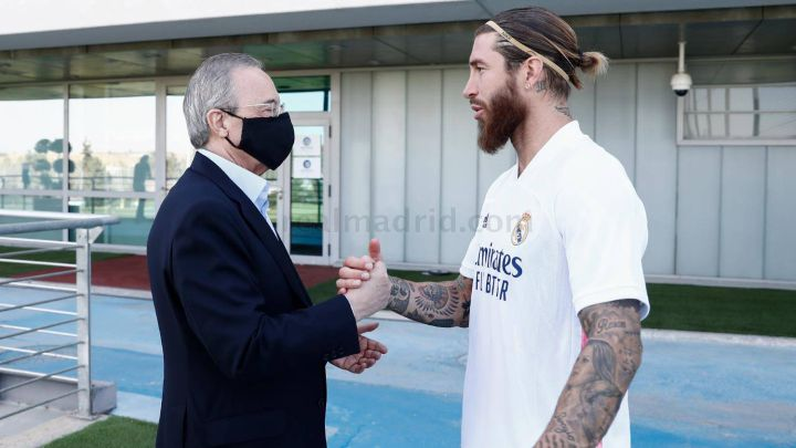 Ramos moves closer to Real Madrid deal following calls with Florentino Pérez