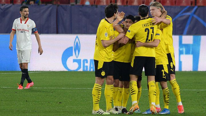 Sevilla - Borussia Dortmund en directo: Champions League en vivo